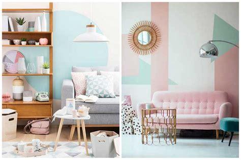 canape de couleur comment créer une déco scandinave dans votre salon