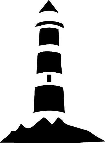 Svg stands for scalable vector graphics. Lighthouse   Stencils, Free stencils, Lighthouse