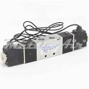 5 Ports 4 Way 3 Position Pressure Center Valve 1  8 U0026quot  Npt
