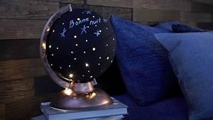 Lampe Globe Terrestre : transformez un globe terrestre en magnifique lampe ~ Teatrodelosmanantiales.com Idées de Décoration