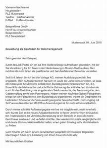 Kauffrau Im Büromanagement : muster bewerbung als kauffrau kaufmann f r b romanagement ~ Orissabook.com Haus und Dekorationen