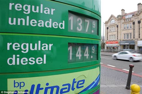 petrol prices cost  filling family car  top