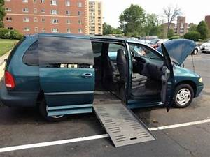 Buy Used Van Wheelchair Handicap Braun Ramp System Dodge