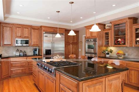pictures of kitchen cabinets and countertops oak kitchen cabinets and granite countertops kitchen cabinet