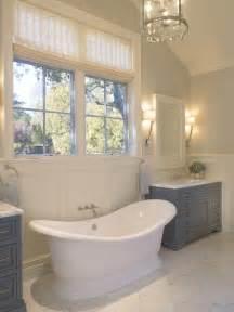 Contemporary Lantern Lighting Gray Washstand Contemporary Bathroom Sdg Architects