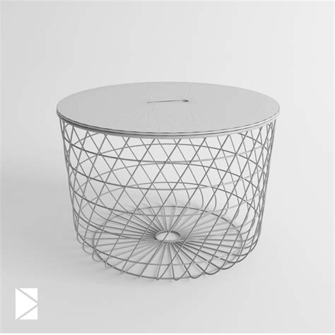 kvistbro ikea table by konradrakowski 3docean