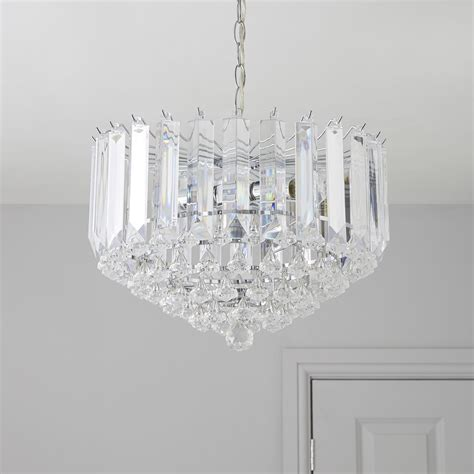 procopio faceted glass clear 2 l pendant ceiling light