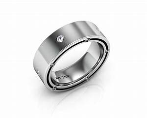 Wedding rings for men white gold gold wedding rings for Mens wedding rings white gold
