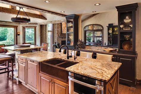 harmonious great kitchen layouts tag for open kitchen great room floor plans with wood peak