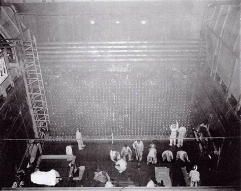 Manhattan Project: Face of B Reactor During Construction