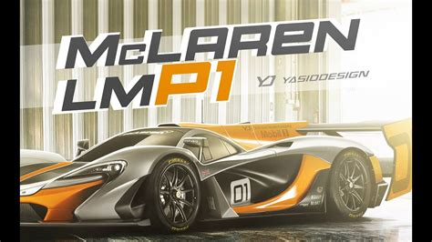 making  lmp mclaren   p gtr  yasid design
