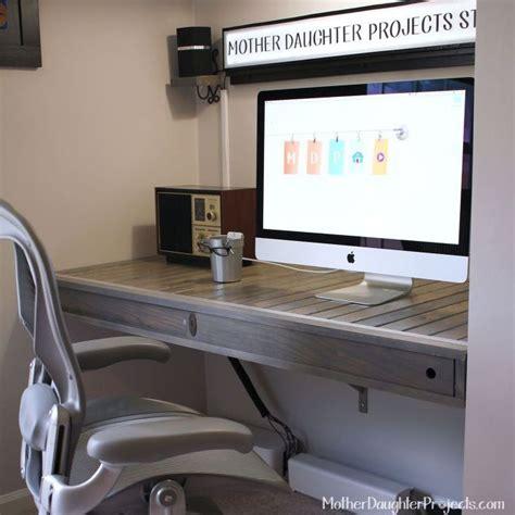 how to make a floating desk floating desk build hometalk