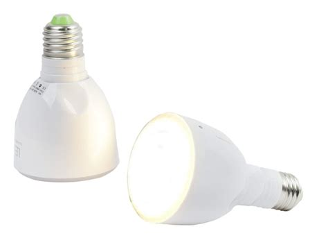 rechargeable led bulb unscrews to become a flashlight wired