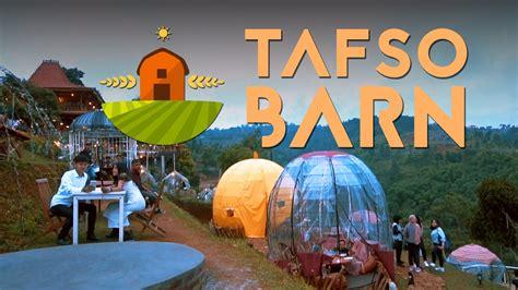 tafso barn tempat ngehits  bandung utara wisata
