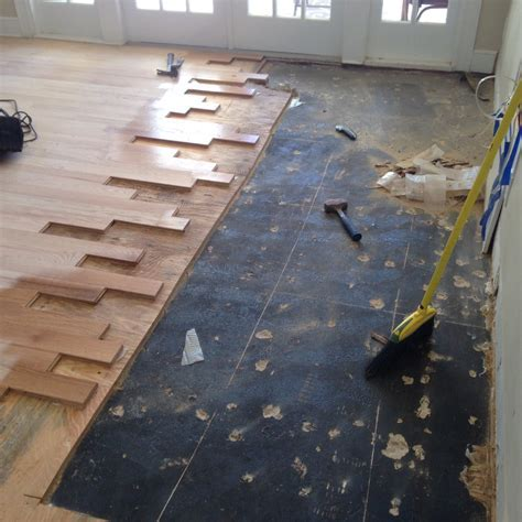 Wood Floor Repair, Sand and Stain in Ponte Vedra FL