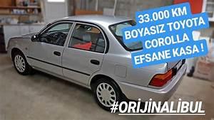 33 000 Km Boyasiz 1997 Toyota Corolla 1 6 Xl U0130 Ae101
