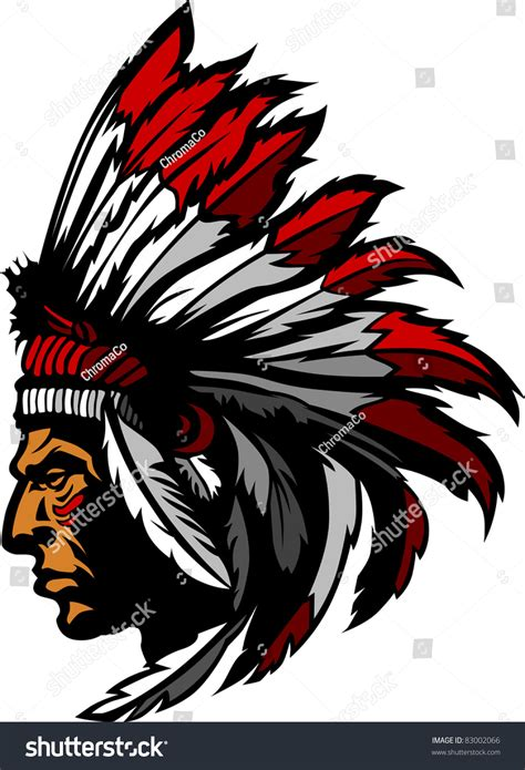 Indian Chief Image by Indian Chief Graphic Illustration Vectorielle Libre