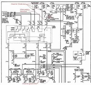 94 Suburban Brake Light Schematic