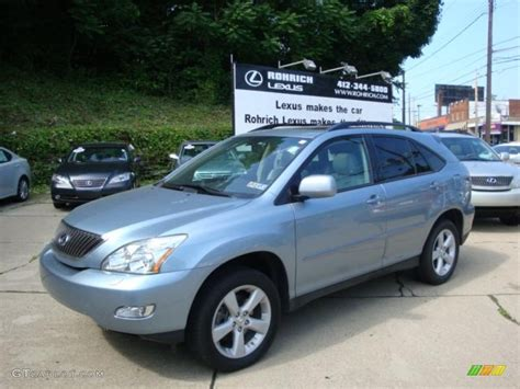 lexus blue 2007 breakwater blue metallic lexus rx 350 awd 31391952
