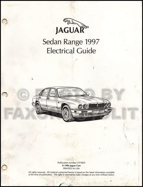 1997 jaguar xj6 electrical guide wiring diagram original