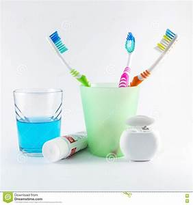 Multicolor Toothbrushes, Dental Floss, Toothpaste And ...