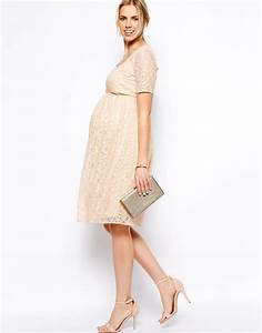 robe de grossesse habillee mi longue ecru la robe longue With robe de grossesse habillée