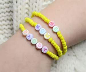 multi strand beaded bracelet pattern making a With make your own bracelet with letters