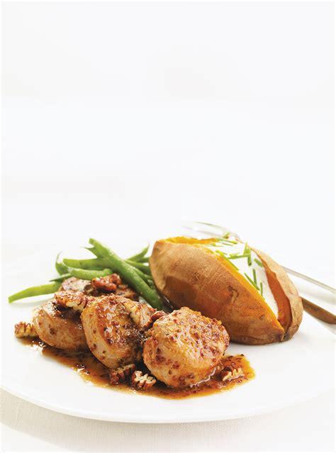 article de cuisine ricardo médaillons de porc à l 39 érable ricardo