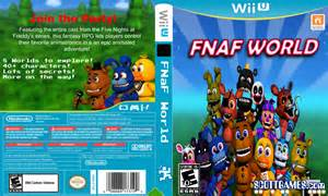 fnaf world cover for wii u by fnaf crazed on deviantart