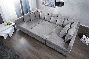 canape d39angle modulable loft xxl gris deco pinterest With tapis enfant avec canape large assise convertible