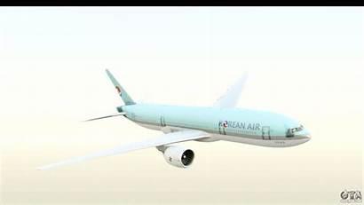 777 Korean Boeing Air 200er Gta San