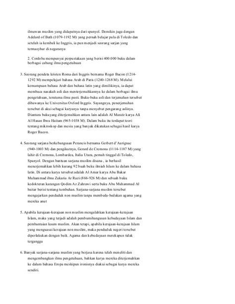 Perkembangan islam pada abad