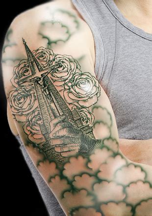 awesome praying hands tattoo designs