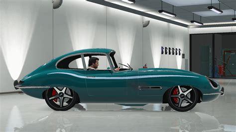Jaguar E-type Modified [nik] [add-on / Replace]