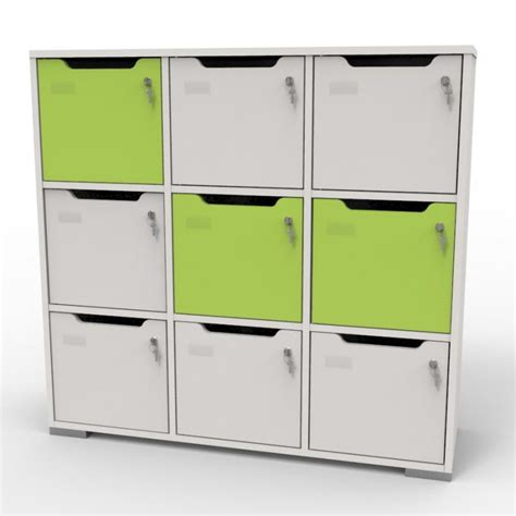 vestiaire casier bois meuble vestiaire design