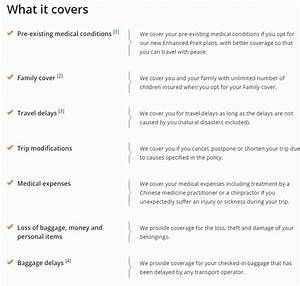 Pre Existing Condition Coverage Travel Insurance Plans ...