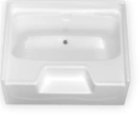 54x27 bathtub center drain bath gt tubs fiberglass garden tub w outside step center