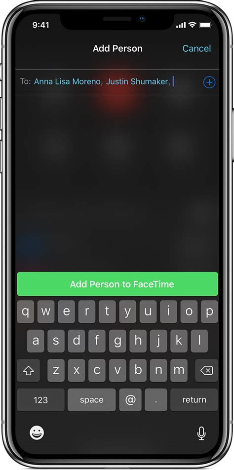 facetime iphone app ipad apple person ios call calls support ipod touch start contact adding chat initiate guide screen apples