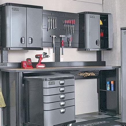 crasftman work bench craftsman professional garage