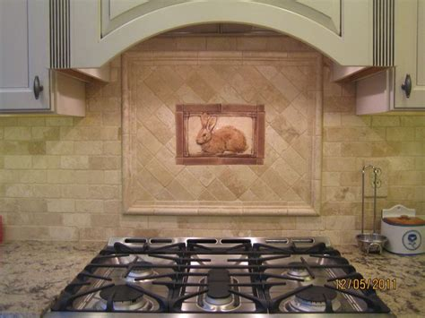 painted tiles kitchen backsplash 17 best images about handcrafted tile installations on 6981