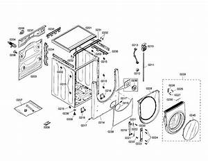 32 Bosch Nexxt 500 Series Washer Parts Diagram
