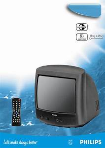 Philips Crt Television 14pt1324 User Guide