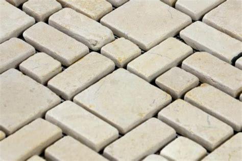 Divero 1 Matte 30x30cm Marmor Stein Mosaik Fliesen Wand