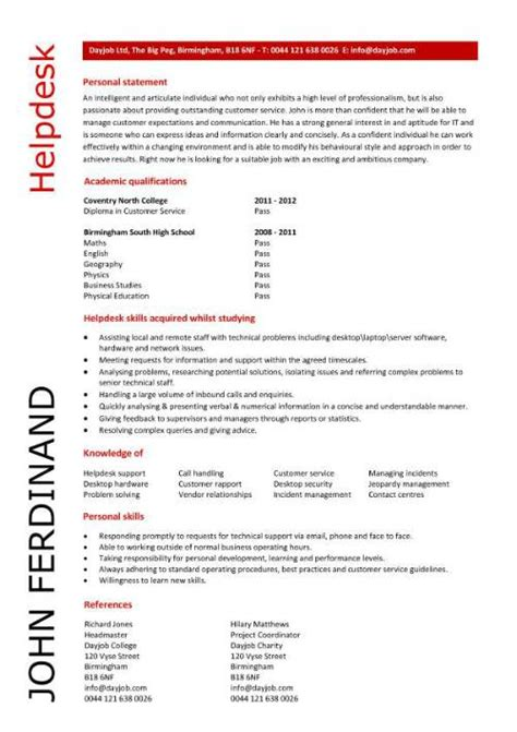 entry level microsoft jobs helpdesk cv sample writing a cv resume curriculum vitae