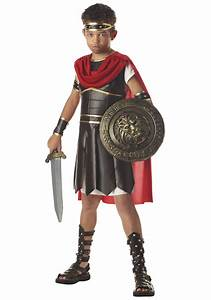 Boys Roman Soldier Costume - Kids Hercules Costumes