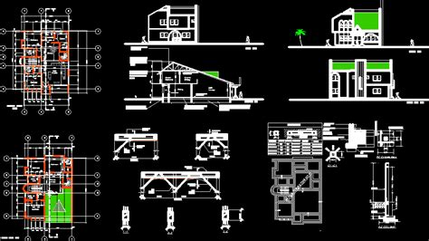 house design  autocad  cad   kb bibliocad