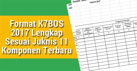 Normally you can easily format your sd card on android phone, windows pc, or digital camera. Format K7 BOS 2017 Lengkap Sesuai Juknis 11 Komponen ...