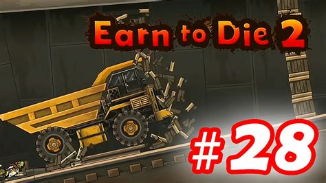 Walkthrough Earn To Die 2  Part 28 Ios  Android Youtube