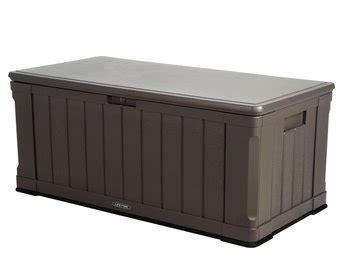 Rollbare Garten Auflagenbox Rattan  Schöne Rattan Auflagenbox