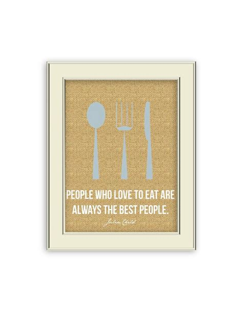 Kitchen Knives Quotes by Child Quote Fork Spoon Knife Kitchen Burlap